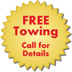 FREE Towing, Call for Details